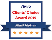 Avvo - Client's Choice Award 2019
